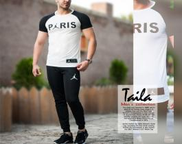 ست تیشرت و شلوار Paris مدل Taila