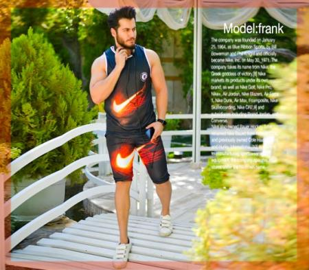 تاپ و شلوارک مردانه Nike مدل Frank