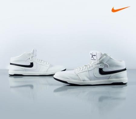 نیم بوت مردانه Nike مدل Pippen( سفید)
